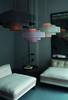 OCHRE - Contemporary Furniture, Lighting And Accessory Design - Chandeliers - Cloud Shade Interior Lighting, Home Lighting, Lighting Design, Ochre Lighting, Luminaire Suspension Design, Luminaire Design, Decoration Inspiration, Interior Inspiration, Interior Architecture
