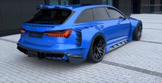 Insane 2020 Audi RS6 Widebody Rendering Looks Real, Has Four-Ring Exhaust - autoevolution Audi A6 Rs, Audi Rs3, Mustang Tuning, Car Tuning, Audi Wagon, Tesla Roadster, Motor Works, Fiat Abarth, Jeep Cars