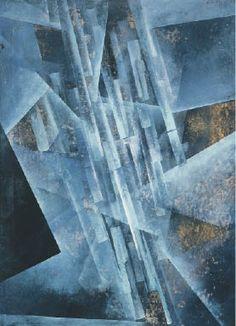 Fritz Winter Lichtstrahlen 1934