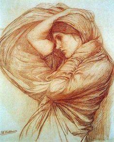 Джон Уильям Уотерхаус (John William Waterhouse, 1849-1917).