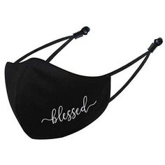 Blessed NGIL Lifestyle Face Mask Faith Over Fear, Making Faces, Cow Print, Great Christmas Gifts, New Bag, Ear Loop, Face Shapes, The New School, New School Year