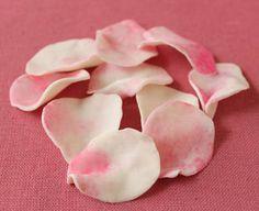 fondant flower petals