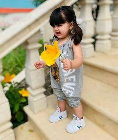 Cute Baby Smile, Cute Little Baby Girl, Cute Baby Girl Pictures, Cute Baby Dolls, Happy Baby, Baby Love, Cute Asian Babies, Cute Babies, Baby Hijab