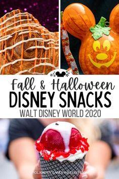 Disney World Halloween, Disney Halloween Costumes, Disney World Food, Disney World Parks, Disney Snacks, Disney Recipes, Disney's Halloween Treat, Orlando Holiday, Disney Thanksgiving