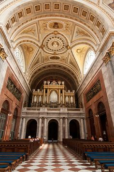 Pipe Organ at the Basilica Esztergom Hungary Organ Music, Sound Installation, Hungary Travel, Central And Eastern Europe, Old Churches, Budapest Hungary, Barcelona Cathedral, Beautiful Places, Scenery