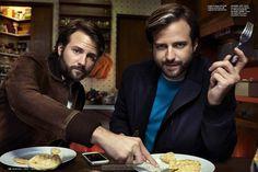 Matt y Ross Duffer por Christian Anwander para Esquire USA