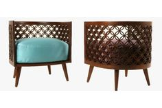The Arabesque sofa from the East & East collection. Courtesy of Nada Debs