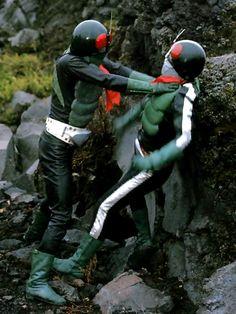 Japanese Superheroes, Kamen Rider Series, Garden Sculpture, Memories, Motorcycle Jacket, Youth, Random, Illustrations