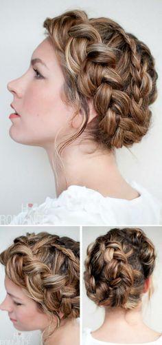 Wedding braid #hair