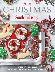 PDF Herunterladen Christmas with Southern Living Inspired Ideas for Holiday Cooking and Decorating kostenlos epub online Thanksgiving Dinner Menu, Christmas Dinner Menu, Christmas Snacks, Christmas Books, Christmas Themes, Christmas Decorations, Christmas Recipes, Beach Christmas, Christmas Holidays