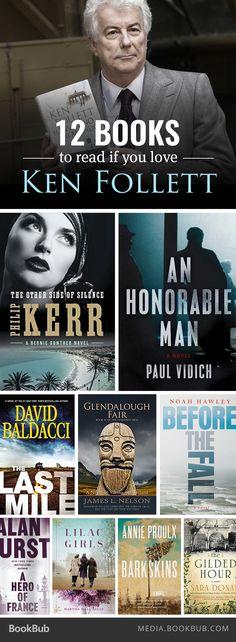 12 gripping books to read if you love Ken Follett.