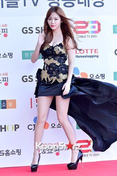Girl's Day Yura at Cable TV Broadcast Awards Red Carpet