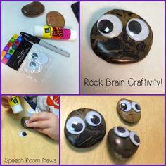 Speech Room News: Rock Brain Craft! #SocialTHinking #Superflex