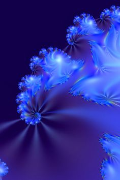 Abstract light blue #fractal http://marjan.yourfreedomproject.com