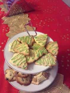 Christmas tree's biscuits