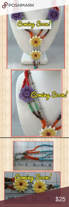 Lucky Brand Daisy Necklace Coming Soon! The ever-so beautiful Lucky Brand Daisy Necklace! Perfect for Spring and Summer alike! This item is estimated to arrive by 02/15. Please like or share for the daisy lover you know! Rock'N Ship adds new items daily and is a top rated closet! Lucky Brand Jewelry Necklaces