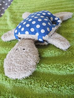 Schnuffeltuch-Schildkröte