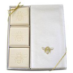 15-Piece Abeille Soap & Towel Set at Joss & Main