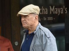 Robert Duvall a spectator at Whitey Bulger trial in Boston . June 21,2013