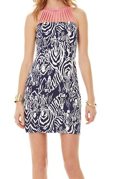 LOVE this Lilly Pulitzer Terry Shift Dress
