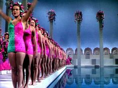 the classic oft imitated shot from the Esther Williams starred 'Bathing Beauty'
