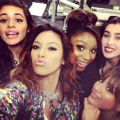Love Fifth Harmony! They are and sound  beautiful but most importantly they are so kind and give glory to God for their success