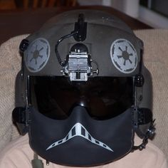 Actual US helicopter flight helmet - Afghanistan. Pure aweomesauce!