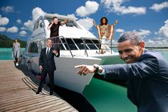 Obama, Oprah, Tom Hanks, and Bruce Springsteen Are All on Vacation Together Right Now