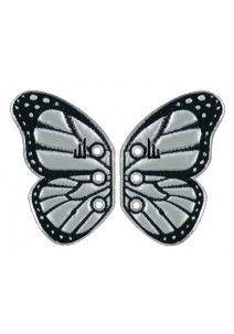 Shwings Vermont butterfly silver foil 2 kpl/pkt