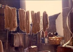 Natural dyeing in Arachova, Greece – Toultouline