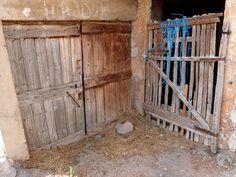 Old doors in or nearby Paklenica, Croatia. Photographed by Marleen van de Kraats, no photoshop or paint etc.