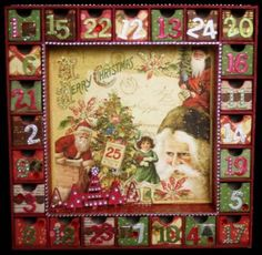Kaisercraft User Gallery - 24 Days of Xmas Drawers Set Kaiser Project - Powered by PhotoPost