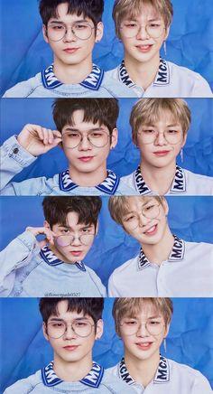 Wanna One x Magazine Ong Seongwoo and Kang Daniel Wallpaper Kdrama, Ong Seung Woo, Cartoon Heart, Daniel K, Korean Couple, Emoji Wallpaper, Vintage Pillows, Seong, 3 In One