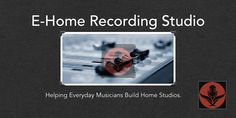 Want to build a home recording studio? But don't know how? In this site, we explain the entire process in a series of 5 simple chapters.