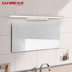 Cheap mirror light led, Buy Quality mirror light led bathroom directly from China mirror light Suppliers: Morden Anti-fog Waterproof Acrylic Mirror Light LED Bathroom Wall Lamp Brief Indoor Lighting Fixtures Sconce for Home Bed Enjoy ✓Free Shipping Worldwide! ✓Limited Time Sale ✓Easy Return.