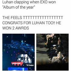 160410 Luhan at the 4th V-chart awards