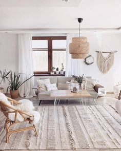 Modern and Most Popular Living Room Design Ideas for This Year Part 18 Boho Living Room, Home And Living, Living Room Decor, Home Interior, Decor Interior Design, Home Remodel Costs, Living Room Inspiration, Style Inspiration, Diy Bedroom Decor
