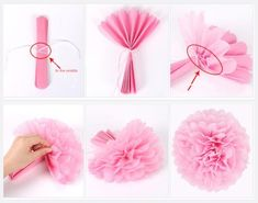 10 pieces / lot tissue paper Pom Poms flower balls for wedding room party decoration supplies diy craft paper flower,post_tags] Paper Flowers Craft, Tissue Paper Flowers, Flower Crafts, Diy Flowers, Tissue Paper Pom Poms Diy, Tissue Paper Crafts, Paper Poms, Tissue Paper Decorations, Paper Garlands