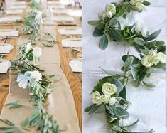 Items similar to Wedding table centerpieces, Wedding table runner/wedding garland/Greenery garland /Wedding backdrops/Mixed greenery garland/Wedding greenery on Etsy Wedding Arch Rustic, Garland Wedding, Wedding Table, Wedding Flowers, Wedding Backdrops, Wedding Ideas, Boho Wedding, Wedding Greenery, Wedding Shit