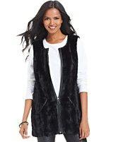 Style&co. Faux-Fur Vest | Macy's