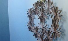 flores recicladas papel