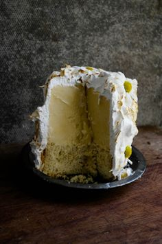 chamomile honey lemon baked alaska