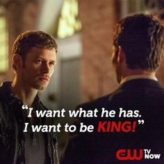 The Originals - Klaus and Elijah