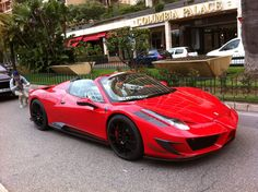 "Ferrari 458 spider ""Monaco"" what can I say... I love sports cars! :)"