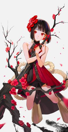 Discovered by Find images and videos about girl, art and anime on We Heart It - the app to get lost in what you love. Anime Girl Hot, Anime Girl Neko, Anime Art Girl, Manga Girl, Anime Guys, Chica Anime Manga, Beautiful Anime Girl, Animes Wallpapers, Anime Outfits