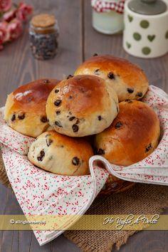 Pangoccioli fatti in casa Healthy Bread Recipes, Bagel, Biscotti, Baking, Breakfast, Food, Breads, Muffins, Pizza