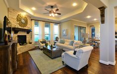 Shelburne New Home Plan in Rim Rock: Provence Collection by Village Builders