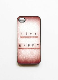 Live Happy iPhone Case