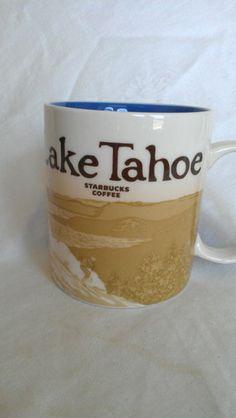 Starbucks Global Icon Collector Series Mug, Lake Tahoe~ discontinued!