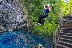 Zipline & Hoyo Azul Fly away and feel the adrenaline